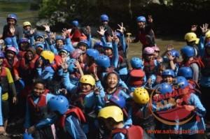 [081.5567.12.982] wisata untuk anak sekolah dengan pelatihan outbound training dan rafting sebagai pengisi liburan. sahabat air rafting14